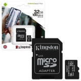 Kingston Microsd Hc 32Gb - Classe 10 - Con Adattatore Sd - Canvas Select +