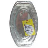 Koking Vassoio In Alluminio Grande 43X28Cm - 1 Pezzo - Massima Resistenza