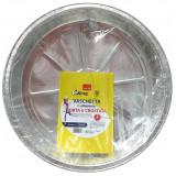 Kooking Vaschetta Alluminio Formato Torta - Diametro 25Cm - 2 Pezzi