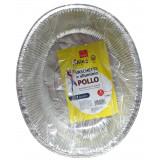 Koking Vaschetta Alluminio Formato Pollo - 27X22X8Cm - 2 Pezzi