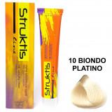 Struktis Crema Colorante Per Capelli 100Ml - N. 10 Biondo Platino