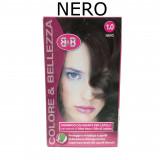 B&b Bellezza Benessere Shampoo Colorante Capelli - N. 1 Nero