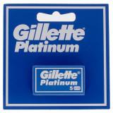Gillette Platinum Lame Tradizionali - 5 Pezzi - Ricambi Per Rasoio Classico