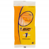 Bic Normal Rasoi Da Barba Radi E Getta - Monolama - 6 Pezzi
