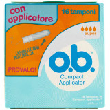 Ob Tamponi Assorbenti Con Applicatore - 16 Pezzi - Super