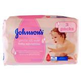 Johnson's Baby Salviettine Imbevute 3 Pacchi Da 56Pz - 168 Salviettine