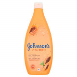Johnson's Bagnoschiuma 750Ml - Vita-rich - Gel Doccia Effetto Seta - Papaya