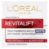 L'oreal Revitalift Crema Viso - 50Ml - Notte - Antirughe Extra Rassodante