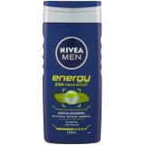 Nivea Men Doccia Shampoo - 250Ml - Energy - 24H Fresh Effect - Mentolo