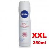 Nivea Deodorante Spray - Formato Xxl 250Ml - Dry Confidence - 48H