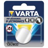 Varta Pila Bottone Formato 2032 Lithio Per Telecomadi Auto E Cancelli