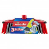 Vileda Scopa 3 Action Fibre Revolution - Con Attacco Universale A Vite