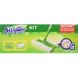 Swiffer Kit Sistema Completo - Scopa + 8 Panni Catturapolvere
