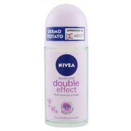 Nivea Deodorante Roll-on 50Ml - 48H No Alcool - Double Effect Violet Senses