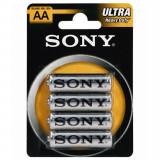 Sony Ultra Pile Formato Aa Stilo Zinco Carbone 1.5V - 4 Pezzi
