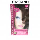 B&b Bellezza Benessere Shampoo Colorante Capelli - N. 4 Castano