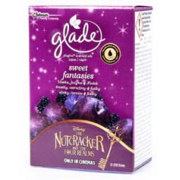 Glade Electric Ricarica Deodorante Ambienti 20Ml Sweet Fantasies Nutcracker