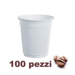 Lariplast Bicchieri Monouso In Plastica Formato Caffe' 80Cc 100Pz Bianchi