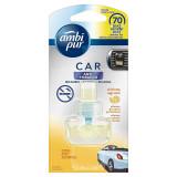 Ambipur Car Deodorante Per Auto - 70 Giorni - Anti Tabacco - Ricarica