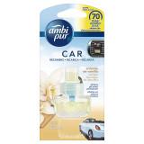 Ambipur Car Deodorante Per Auto - 70 Giorni - Vaniglia - Ricarica