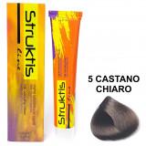 Struktis Crema Colorante Per Capelli 100Ml - N. 5 Castano Chiaro