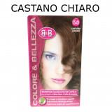 B&b Bellezza Benessere Shampoo Colorante Capelli - N. 5 Castano Chiaro