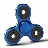 Fidget Spinner Alu Blu In Metallo E Alluminio