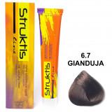 Struktis Crema Colorante Per Capelli 100Ml - N. 6.7 Gianduja