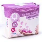 Easy Assorbenti Ultra Sottili 10Pz - Giorno Con Ali - Ipoallergenici