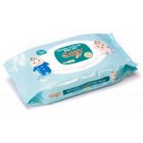 Easy Salviettine Imbevute - 72 Pezzi - Tappo Pop-up Apri&chiudi - Talco