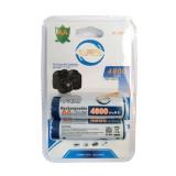 Batterie Ricaricabili Formato Stilo Aa - 4800Mah - 2 Pezzi