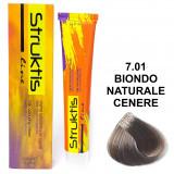 Struktis Crema Colorante Per Capelli 100Ml - N. 7.01 Biondo Cenere