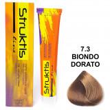 Struktis Crema Colorante Per Capelli 100Ml - N. 7.3 Biondo Dorato