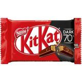 Nestle' Kit Kat Snack Dolce Cioccolato E Wafer - 41.5 Grammi - Dark 70%