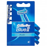 Gillette Blue Ii Plus Rasoi Radi E Getta Bilama 4Pz