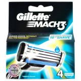 Gillette Mach3 Ricambi Per Rasoio - 4 Testine - Tripla Lama