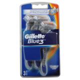 Gillette Blue 3 Rasoi Radi & Getta Trilama - 3 Pezzi - Classic