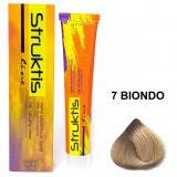 Struktis Crema Colorante Per Capelli 100Ml - N. 7 Biondo