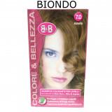 B&b Bellezza Benessere Shampoo Colorante Capelli - N. 7 Biondo