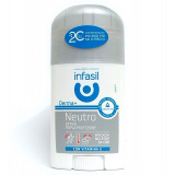 Infasil Deodorante Stick - 40Ml - Neutro Tripla Protezione