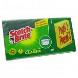 Scotch-brite Spugne Con Abrasivo 3Pz - Confezione Tris