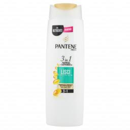Pantene Pro-v Shampoo Balsamo E Trattamento 3In1 - 225Ml Lisci Effetto Seta