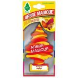Arbre Magique Alberello Deodorante Per Auto - 1 Pezzo - Mango E Papaya