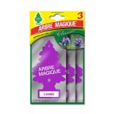 Arbre Magique Alberello Deodorante Per Auto - 3 Pezzi - Lavanda
