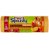 Domopak Spazzy Sacchi Antiforo Profumati 28 Litri - 15 Pezzi - Arancia