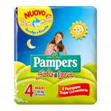 Pampers Sole E Luna Pannolini - Taglia 4 Maxi 7-18Kg - 18 Pezzi