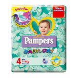 Pampers Pannolini Baby-dry - Taglia 4 Maxi 7-18Kg - 19 Pezzi