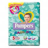 Pampers Pannolini Baby-dry - Taglia 5 Junior 11-25Kg - 17 Pezzi