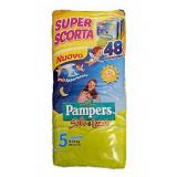 Pampers Sole E Luna Pannolini - Taglia 5 Junior 11-25Kg - 48 Pezzi - Tripack
