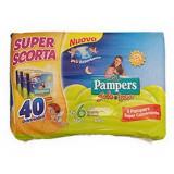 Pampers Sole E Luna Pannolini - Taglia 6 Xl 15-30Kg - 40 Pezzi - Tripack